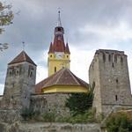 14th century Transylvanian Saxon fortified church