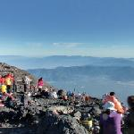 Summit of Mount Fuji (StreetView)