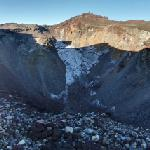 Crater of Mount Fuji and Ken-ga-mine (StreetView)