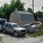 Jimmy Hoffa's possible burial site (StreetView)