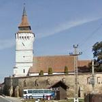 13th century Transylvanian Saxon fortified church (StreetView)