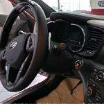 Inside of car Kia Optima SXL