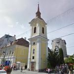 Remaining tower of a Franciscan church-monastery complex (StreetView)