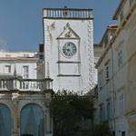 Venetian clock tower in Hvar