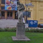 Statue of Andrea Schiavone (Andrija Medulić)