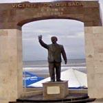 Vicente Fox Quesada Statue
