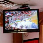 Watching 2010 Olympic ice hockey