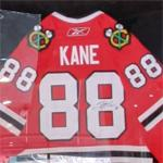 Autographed Patrick Kane jersey (StreetView)