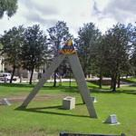 APEX 75th Anniversary monument (StreetView)