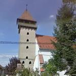 16th C. Transylvanian Saxon fortified church (StreetView)
