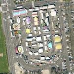 Amusement Park in a parking lot (Google Maps)