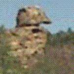 The Lone Ranger Rock from TV series (StreetView)