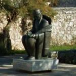 Vladimir Nazor's statue