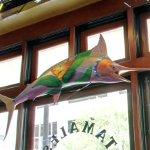 Painted marlin (StreetView)
