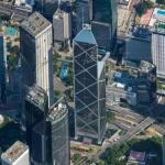 'Bank of China Tower' by I. M. Pei.