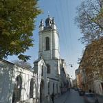 Belltower of the Armenian cathedral (StreetView)