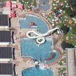 Giant slide and pools (Google Maps)
