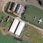 Aircraft exhibition in Lapino (Google Maps)