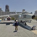 Douglas A-3 Skywarrior (USS Midway Museum) (StreetView)