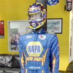 Ron Capps driving suit
