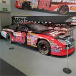 Boris Said's NASCAR stock car