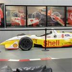 Jimmy Vasser's CART race car