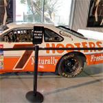 Alan Kulwicki's NASCAR stock car (StreetView)