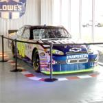 Jimmie Johnson's NASCAR stock car
