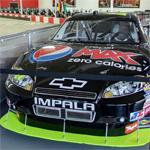 Jeff Gordon's NASCAR stock car (StreetView)