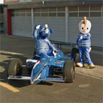 Mascots at Twin Ring Motegi