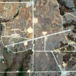Fort Sill Air Strip Targets (Google Maps)