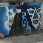 Lucha Libre graffiti (StreetView)