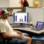 Rickrolling Google Employee