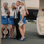 Captain & Stewardesses