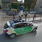 Google Car in Lodz (StreetView)