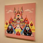 Art show by Dimitri Drjuchin
