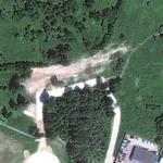 Polish Air Force Tu-154M crash site (Google Maps)