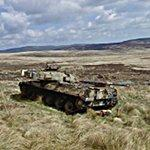 Chieftain tank at The Otterburn Army Training Estate