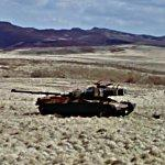 Derelict Chieftain tank (StreetView)