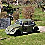 Beetle with military looks (StreetView)