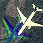 Aircraft in Flight (Google Maps)
