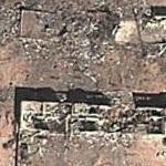 Destroyed military garrison. (Google Maps)