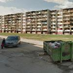 Like a war zone (StreetView)
