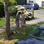 Canadian lovers (StreetView)