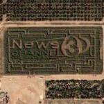 'News 3' / 'SRP' in field (Google Maps)