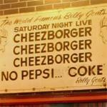 Cheezborger sign