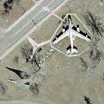 B-47E and FB-111A (Google Maps)
