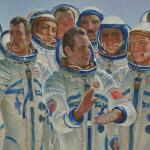 'Cosmic Brothers' by Yuri Konstantinovich Korolev (1981)