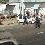 Automobile accident (StreetView)