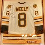 Autographed Cam Neely jersey